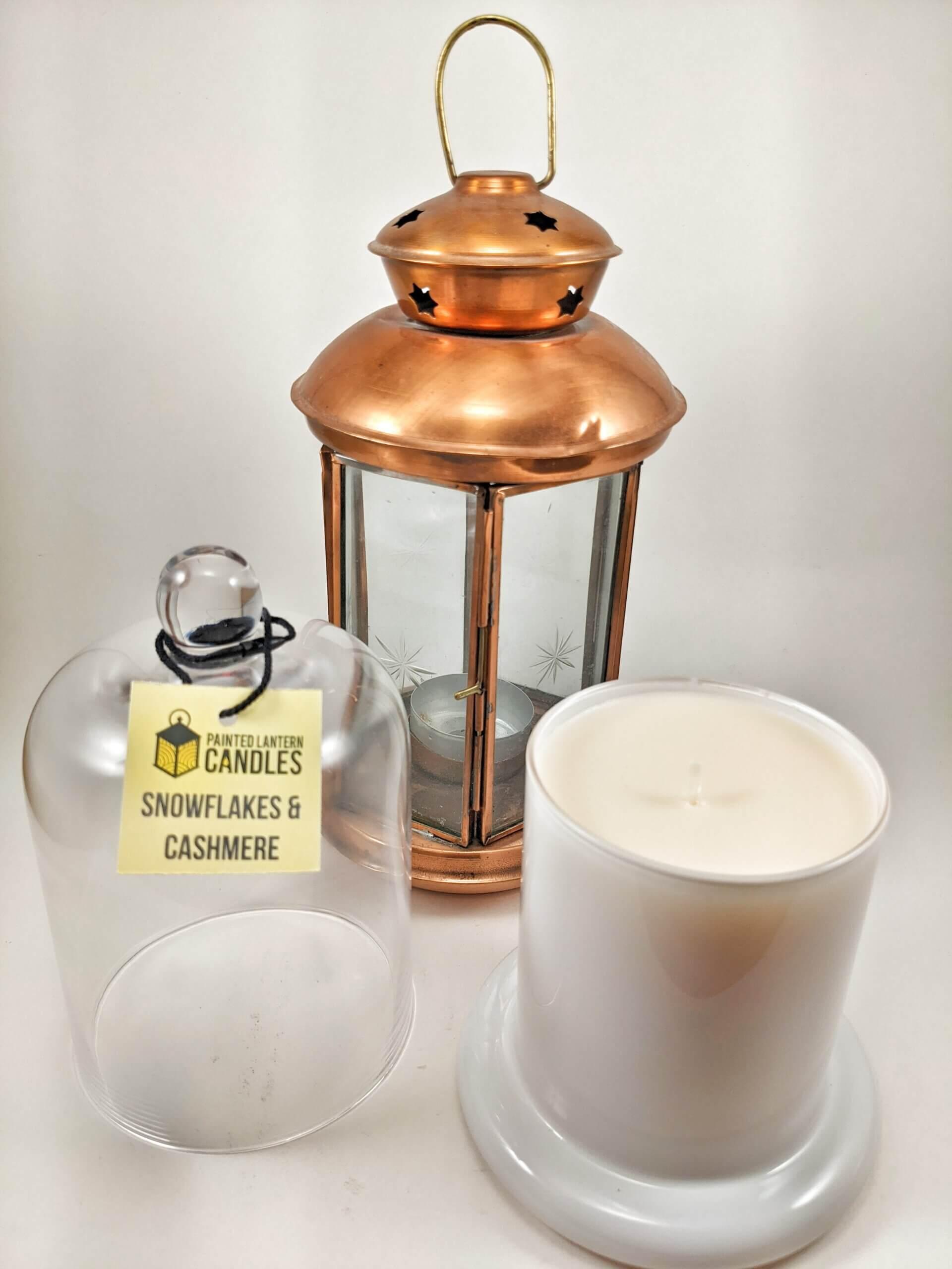 Snowflakes & Cashmere Bell Jar Portrait