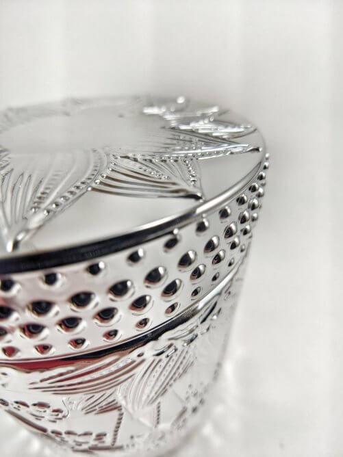 Frosted Juniper Flower Jar Art Shot