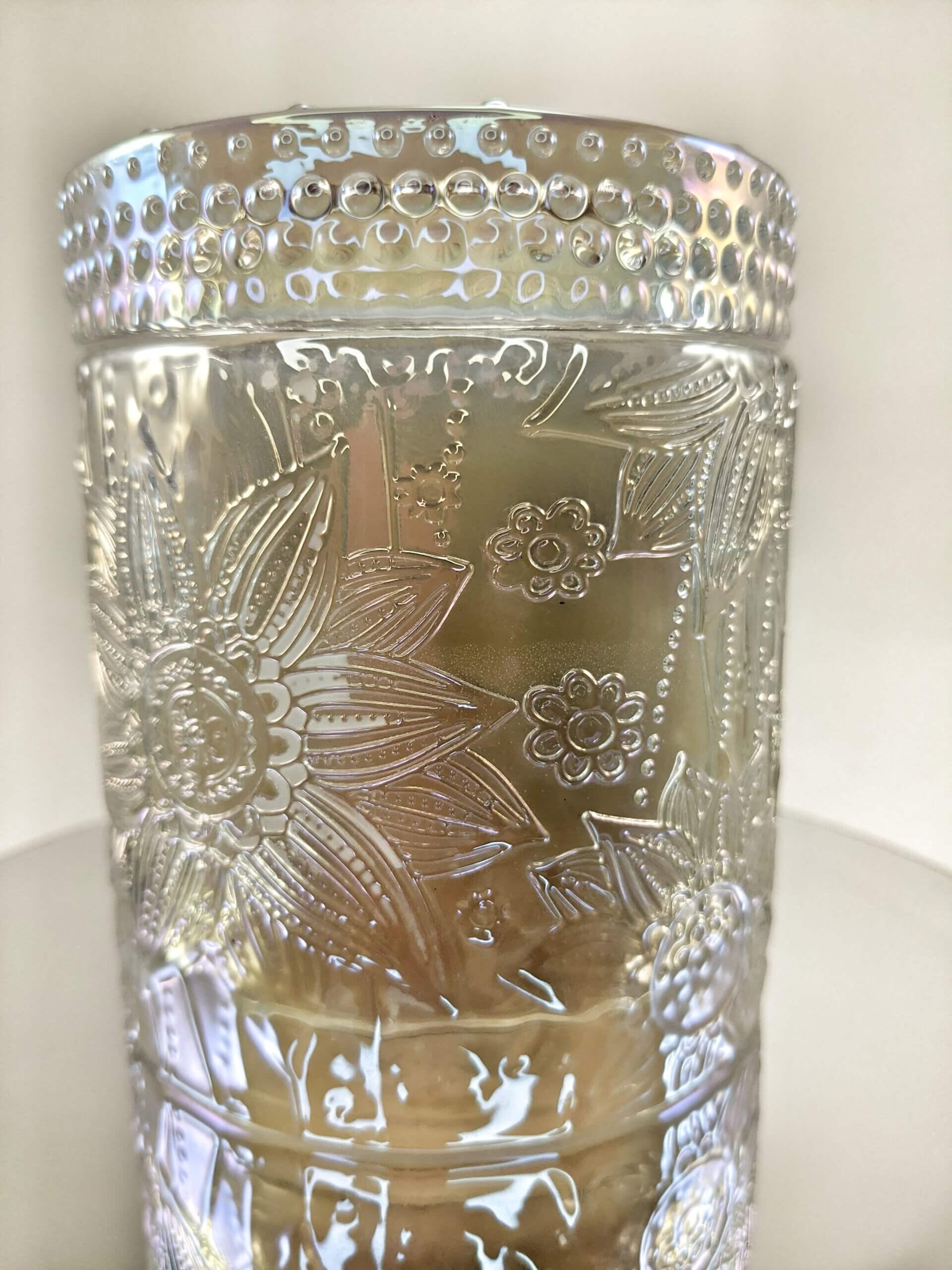 Calla Lilly Flower Jar Mirror Stand