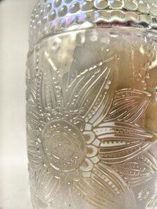 Calla Lilly Flower Jar Close-up