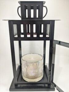 Calla Lilly Flower Jar Lantern Pic