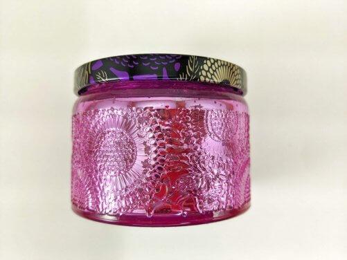 Lavender Small Jar Side Closeup