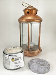 Frosted Juniper Small Jar