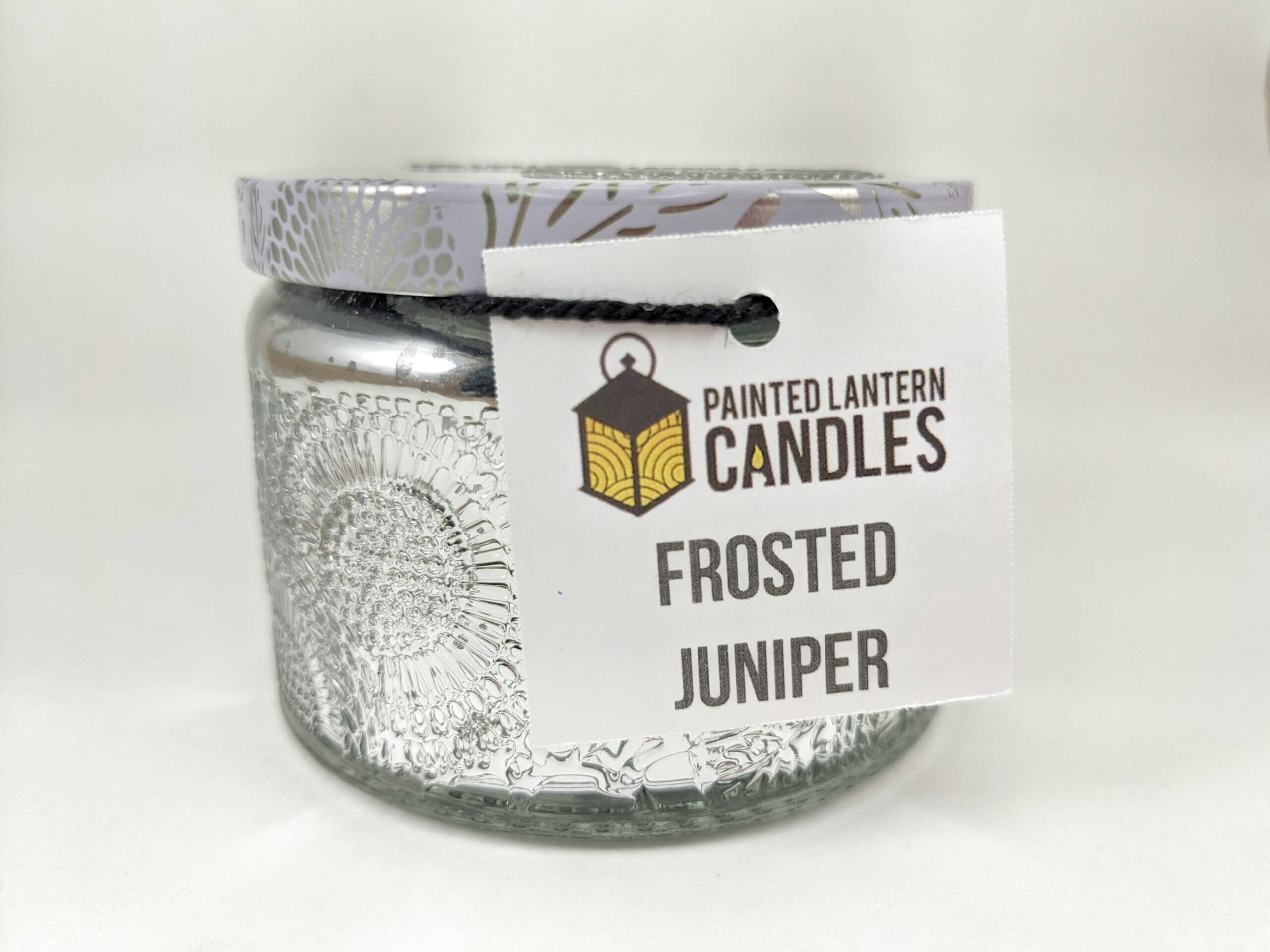 Frosted Juniper Small Jar Front