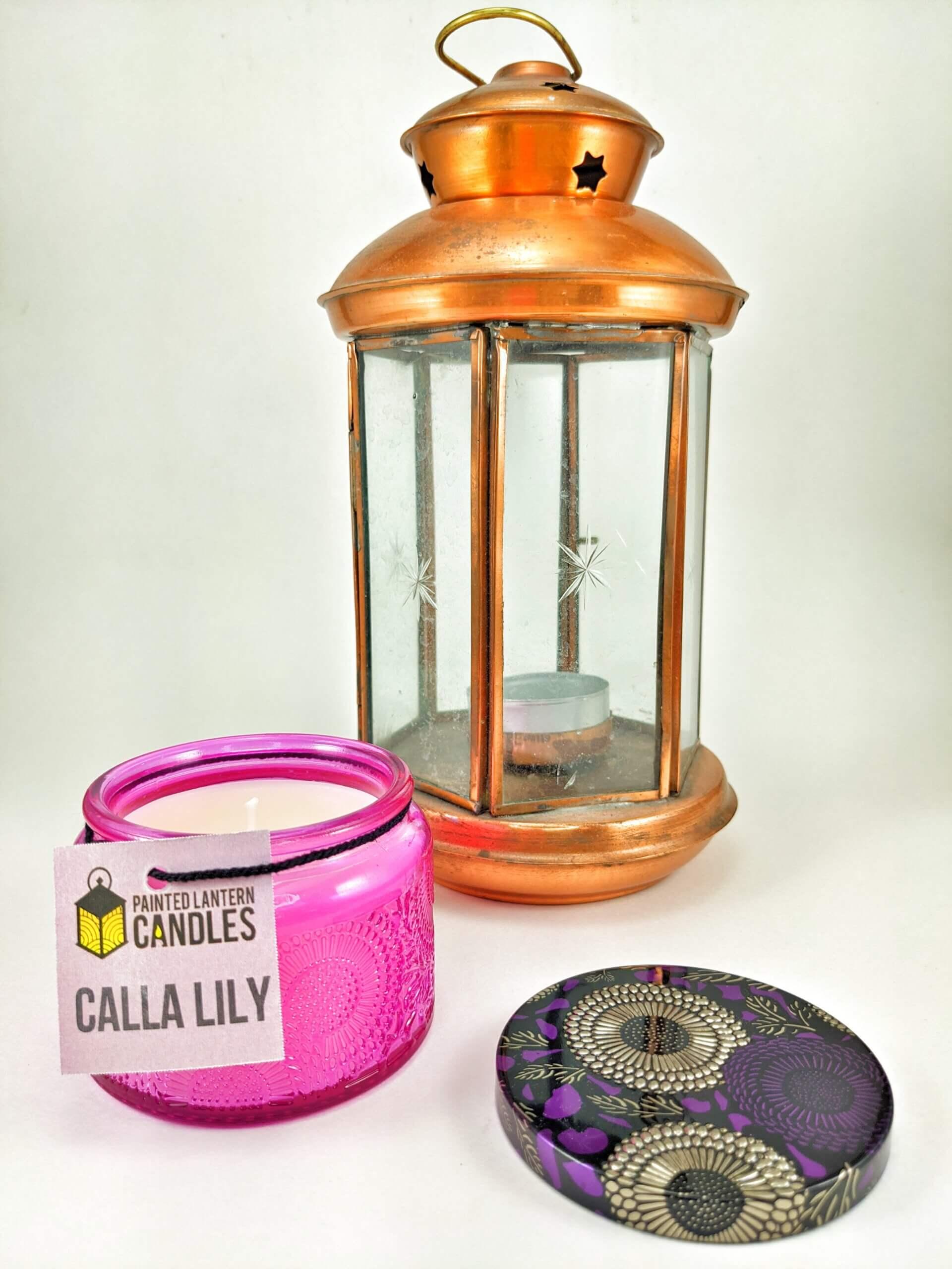 Calla Lilly Small Jar